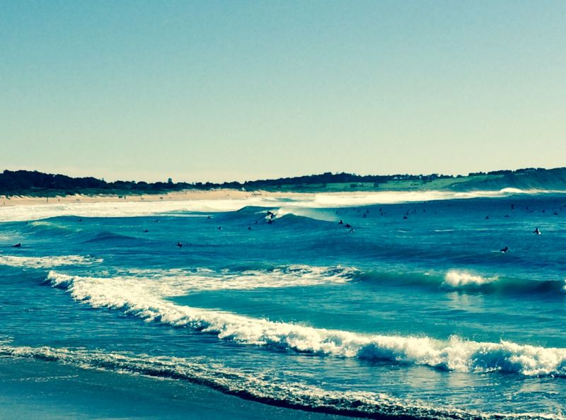 Sunday morning at Dee Why