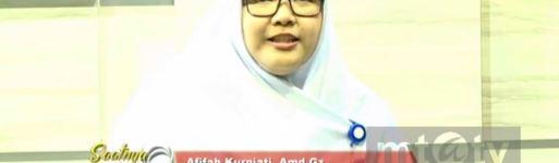 "Video Siaran MTA TV Afifah Kurniati, A.Md.Giz, Praktisi Gizi RS UNS Dengan Tema ""GIZI SEIMBANG IBU HAMIL"""