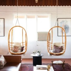 Hanging Rattan Chair Wedding Covers Hire Perth See By Serena Lily At The Joshua Tree House Chairs