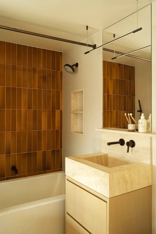 tiles by heath ceramics seen at private