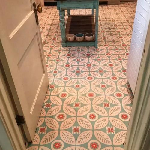 floor tiles by mirth studio seen at