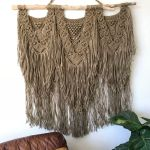 Large Jute Swag By Langbaron Art Seen At Private Residence Galeana Chih Mexico Galeana Wescover