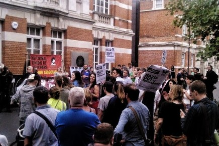 Tottenham attacks: antifascist vigil attracts 200 in show of unity and defiance