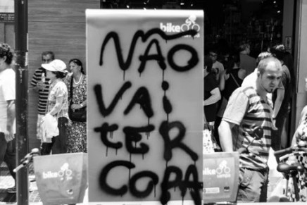 """A view from Rio: """"The World Cup now pervades every serious political dispute taking place today"""""""