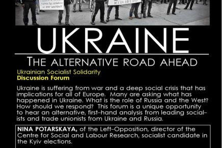 Ukraine: The alternative road ahead (public meeting)
