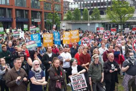Manchester protests against austerity