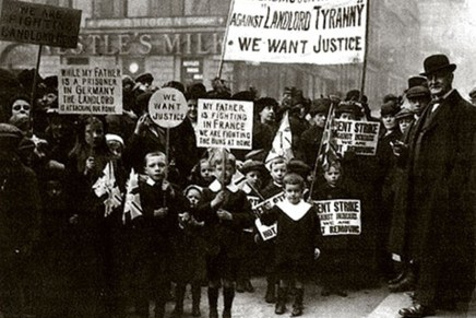 1915 Glasgow Rent Strike: how workers fought and won over housing