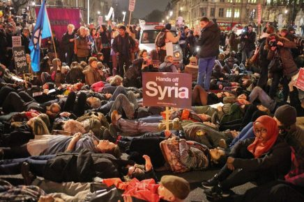 MPs vote for bombing – join the protests this weekend and the 12 December demo