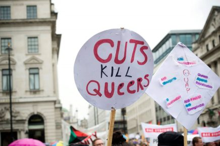 LBGT organisations close in the face of Tory cuts despite claims of support
