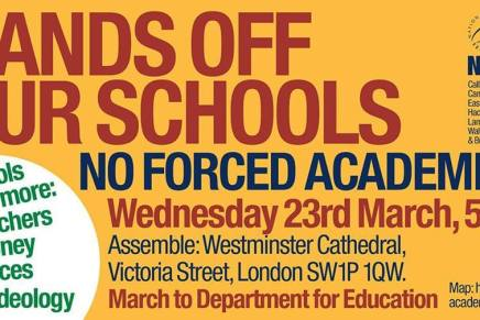 Six reasons why academisation of our schools should be opposed