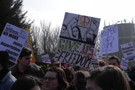 'Shut down Yarlswood': momentum grows at large demo