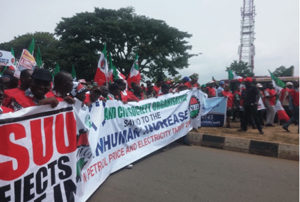 The First Three Days? The 2016 Nigeria General Strike
