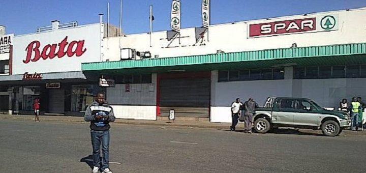 Shops closed in Harare during the national shutdown. Image: Garikai Chaunza