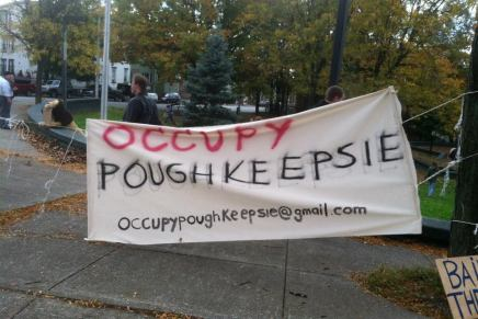 """Occupy Poughkeepsie: """"mass politics will never be limited to New York City and the Bay Area"""""""