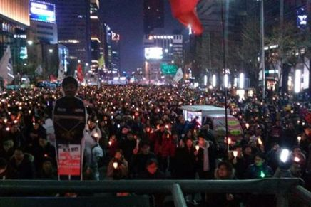 revolutionary reflections | A Hot Winter in South Korea – an historic opportunity in the face of the impeachment of Park Geun-hye
