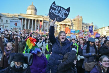 Feeling hopeful on angry London march against Trump's inauguration: report and photos