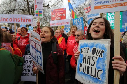 Fighting for the NHS, a moment for Corbynism