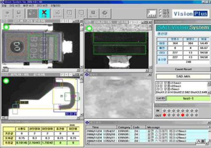 MR SAD Diode T/F Vision System