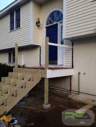 Front Stoop Renovation