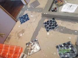 Bathroom Remodel--Tiling