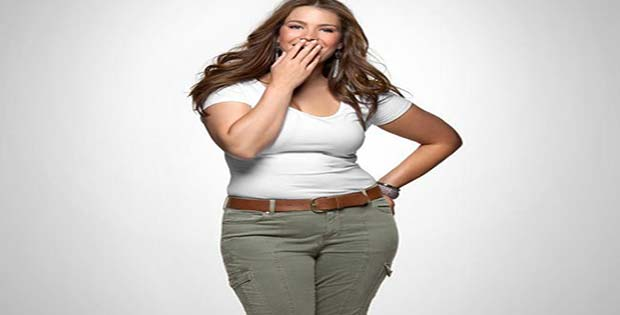 Mujer gorda y linda