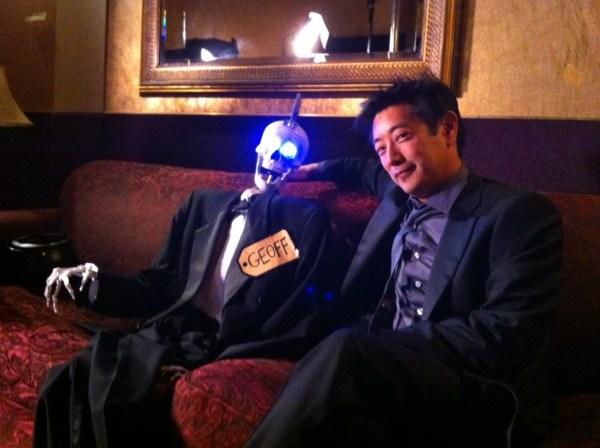 Grant Imahara Robot Exploring Mars