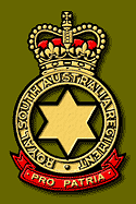 Cap badge of RSAR