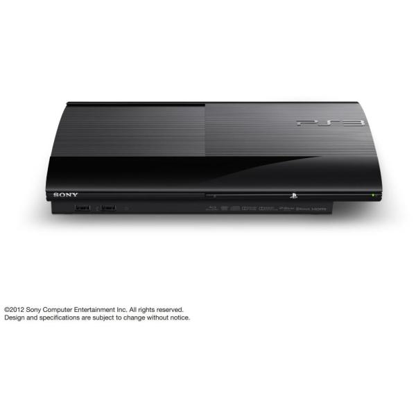 Sony Playstation 3 Ps3 Super Slim Cech-4000c Black 500gb Console Free Shipping