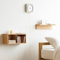 MoMA MUJI Wall mounted CD player with FM radio CPD-3 from ...