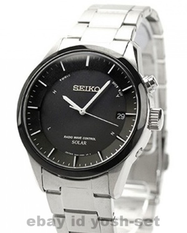 Seiko Spirit Smart Sbtm175 Solar Powered Atomic Multiband