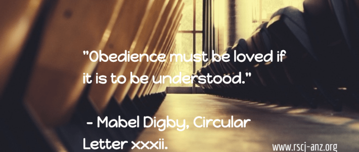 """""""Obedience must be loved if it is to be understood."""" - Mabel Digby"""