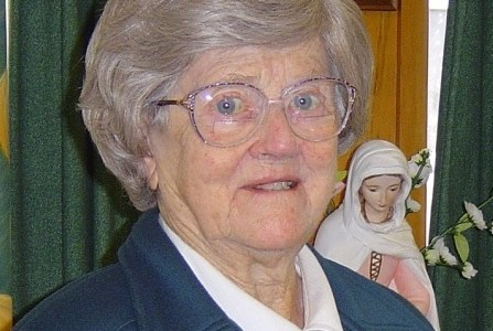 Sr Monica McGivern turns 100 years