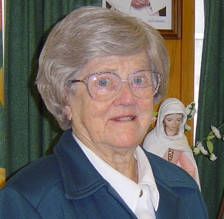 Many in NZ and especially in the Wellington Diocese, will remember Sr Monica McGivern RSCJ, founder of the Drop in Centre known as The Crypt which could be found under St Mary of the Angels. Sr Monica began the Centre in 1982. She was available to anyone needing a listening ear or wanting to rest in the presence of someone who cared about all who visited her ministry. Sr Monica will turn 100 this year. Whilst very frail, she will quietly celebrate her very full and faith-filled life with her community on May 25th. Anyone wishing to send Monica a message can do so by sending it : C/o Sr Elizabeth Snedden, 111 Shore Road, Remuera, Auckland. 1050 Or email: ejsnedden@xtra.co.nz