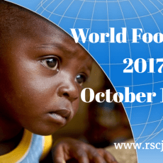 WORLD FOOD DAY – 16 October 2017
