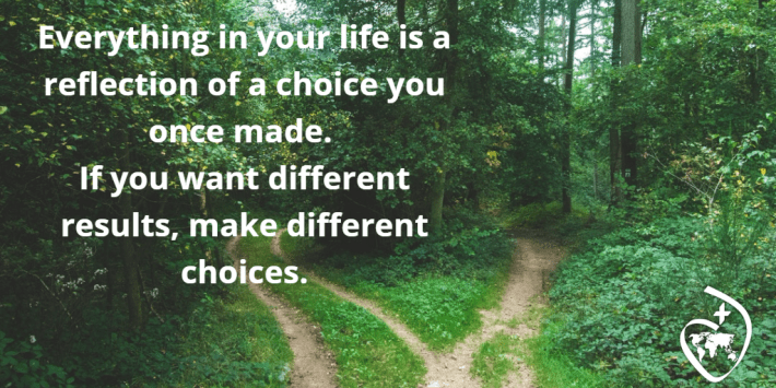 a different choice = a different result