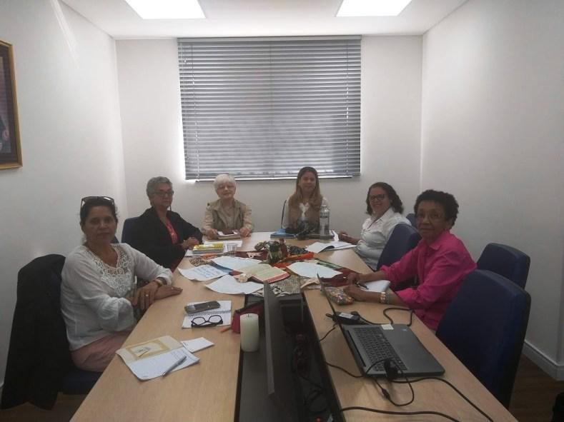 Equipe Central da FASCM com a Provincial