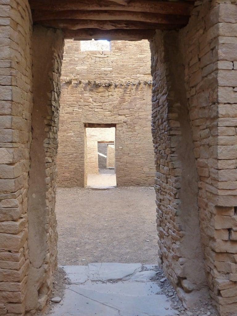 Doorways in Pueblo Bonito