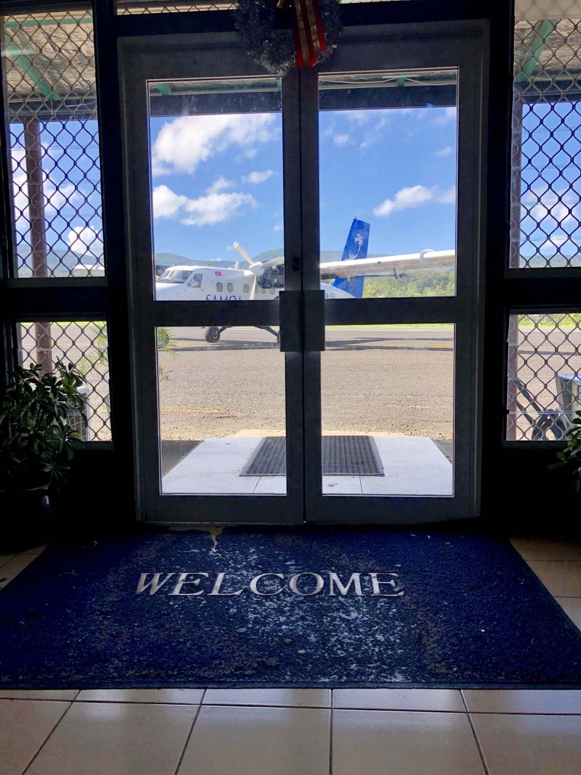 Fagali'i Airport in Samoa