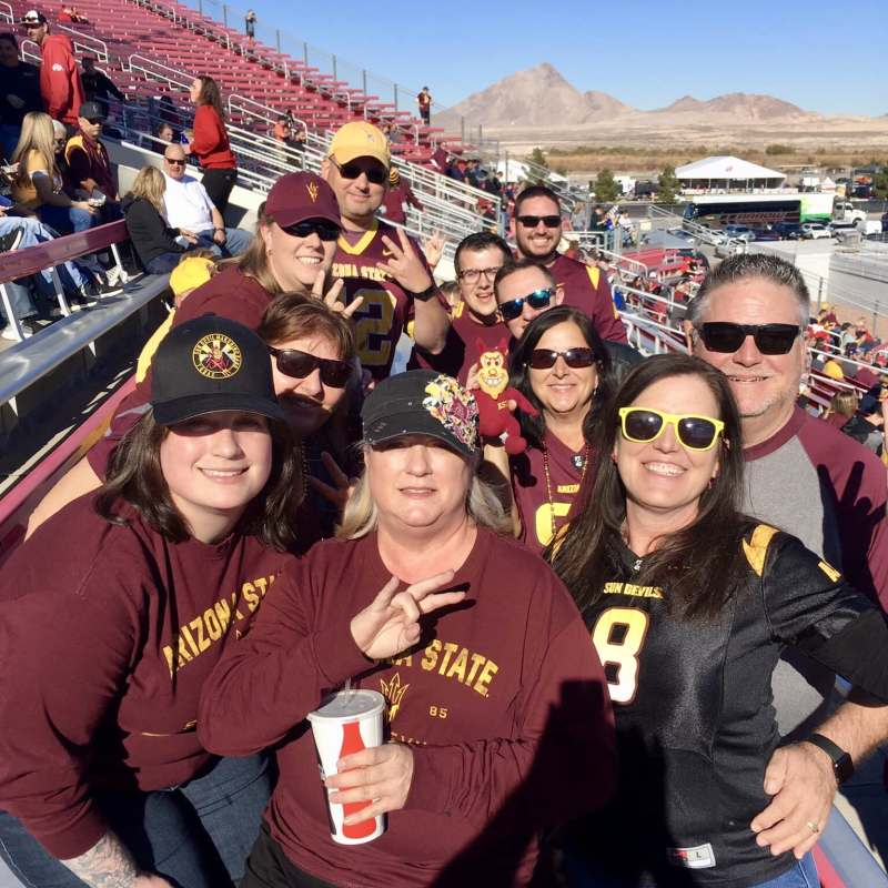 tailgating group
