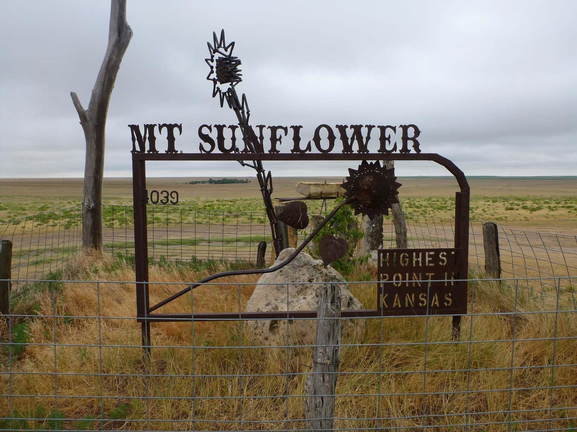Mt Sunflower, Kansas high point