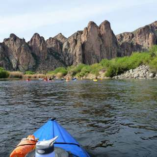salt river kayaking cliffs