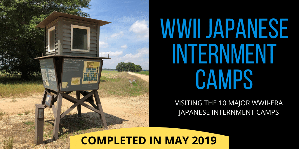WWII Japanese Internment Camps