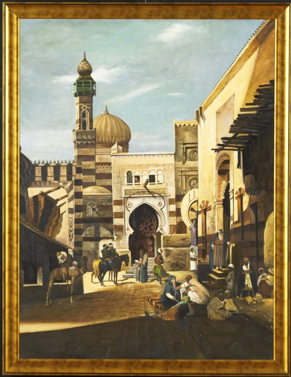 Middle Eastern Art Museum Style Paintings