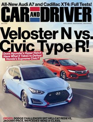 Car and Driver Magazine December 2018 issue  Get your