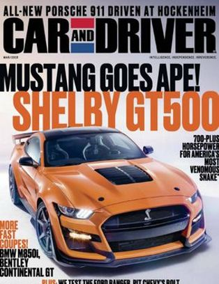 Car and Driver Magazine March 2019 issue  Get your