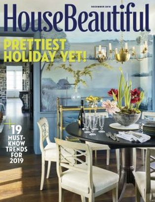 House Beautiful Magazine December 2018 Issue Get Your