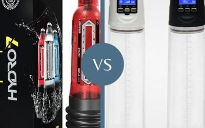 Pros and Cons of Water vs Battery Penis Pump