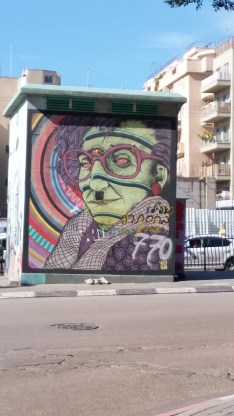 Grafitti in Tel Aviv
