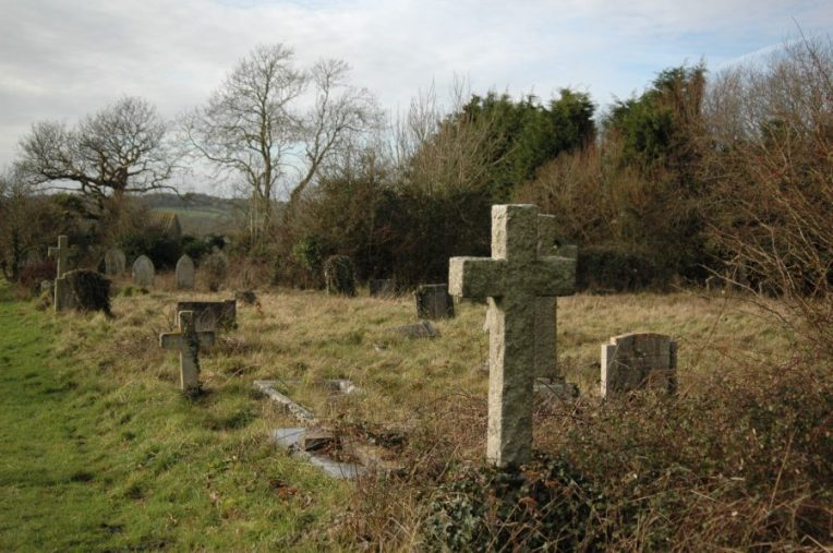 St John's Cemetery January 2008