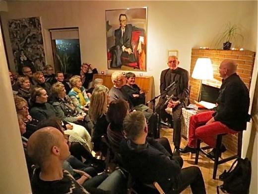 Pétur Gunnarsson og Hallgrímur Helgason 30. október 2014